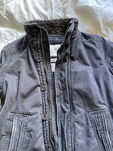 Abercrombie Fitch Adirondack Jacket Medium Mens Fleece Coat Macintyre Bridge