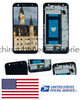 FIT For LG Fiesta 2 LTE L163BL L164VL LCD Touch Screen Digitizer Assembly +Frame