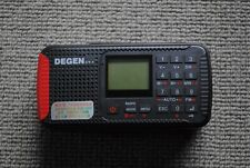 DEGEN CY-1 RADIO BLUETOOTH ENERGIA SOLARE AM, FM, SW Ricevitore Hand Crank Registratore