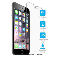 10x Wholesale tempered glass screen protector for iPhone 5 5S SE 6 6S PLUS 7 X
