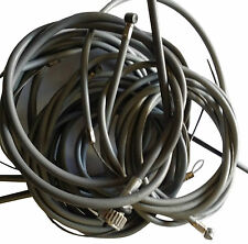ukscooters VESPA FRICTION FREE CABLE KIT INCLUDING SPEEDO SET OF 8 PX/LML/P GREY