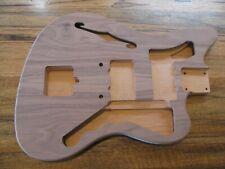 Saylor Guitars Unfinished Thinline Walnut / Alder Jazzmaster Style Body 3# 10oz