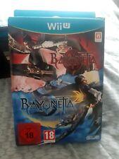 Bayonetta 1 + 2 Special Edition (Nintendo Wii U, 2014) mint condition