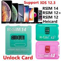 RSIM-14 RSIM 12+ Heicard Unlock Turbo SIM Card For iPhone XS Max XR X 8 7 6+ LOT