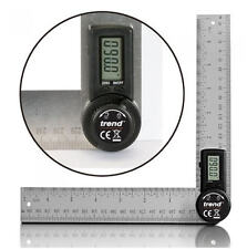 TREND Folding Digital Angle Finder Ruler 400mm (2x200mm) 360° Protractor DAR/200