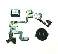 iPhone 4s Flex Ribbon Cable Power Home Button Proximity Sensor Light Ear Speaker