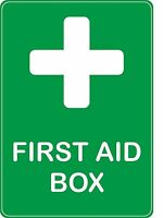 sticker first aid box health safety emergency door decal self adhesive