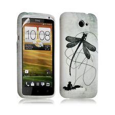 Housse coque étui gel pour HTC One X motif LM01 + Film protecteur
