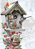 NEW! Otter House A Festive Feast 1000 piece wild bird christmas jigsaw puzzle
