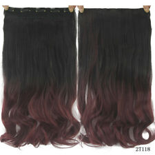 Various Wavy/Curly/Straight Clip In on Hair Extension Full Head Clips Hairpieces