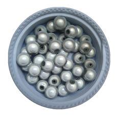 20 Perles 6mm Blanc Miracle magique effet oeil de poisson Creation Bijoux