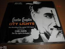 Charlie Chaplin silva City Lights soundtrack Cd score Carl Davis