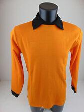 Vintage 80 SENZA MARCA Maglia Calcio 5 L XL Soccer Jersey Maillot Shirt 17