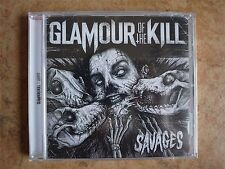 Glamour of The Kill - Savages 2014 USA CD Sealed NEW Metalcore