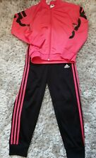 Adidas Girls Tracksuit Set Size 9-10 Years Height 140 Cm