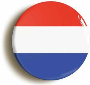 NETHERLANDS DUTCH HOLLAND NATIONAL FLAG BADGE BUTTON PIN