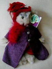 2003 Bearington Collection Plush Teddy Bear / Red hat Society