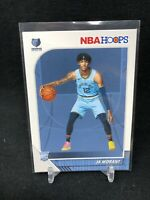 2019-20 Panini NBA Hoops Ja Morant #259 BASE RC Rookie Grizzlies AA86