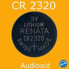 2PC RENATA CR2320 Lithium Batteries 3V - Swiss Made