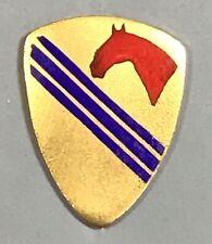 Army 1st Cavalry Division Aviation Detachment DUI DI Unit Crest PB NHM