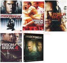 PRISON BREAK - STAGIONI DA 1 A 5 (26 DVD) COFANETTI SINGOLI, NUOVI, ITALIANI