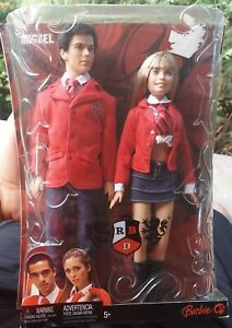 New Sealed Mia and Miguel Calab With Barbie RBD Rare 2006
