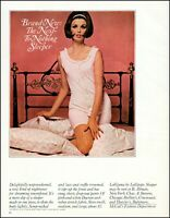 1965 women's nightwear lingerie William Helburn photo vintage print Ad adL50
