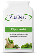 Digest Assist - A High Strength plant digestive enzymes - 90 Capsules