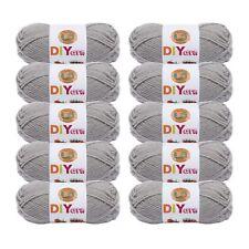 Lion Brand Yarn 205-149 DIYarn Grey (Pack of 10 skeins)