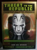 2015 TOPPS STAR WARS CHROME PERSPECTIVES THREAT THE REPUBLIC #09 THE INQUISITOR