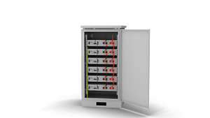 Outdoor Cabinet for PylonTech US2000C 2.4kWh Lithium Battery up to 6 Units