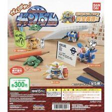 GUNDAM SD Desktop - 5 Figures - Gashapon !!! COMPLETE SET - NEW - BANDAI