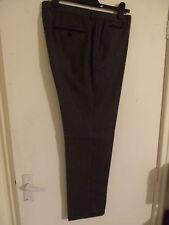 "HUGO BOSS 'Grease' Men's Grey 'Winter Weight' Formal Trousers W36"" L33"" Wool"