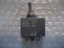1 x NOS AIRPAX .5 Amp Aerospace Toggle Circuit Breaker P/N: AP1-50G-RC