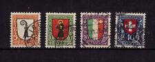 Schweiz 185 - 188 Pro Juvente 1923 gestempelt  #e524