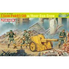Dragon 6445 7.5 cm PaK 97/38 with Heer Gun Crew 1/35 scale plastic model kit