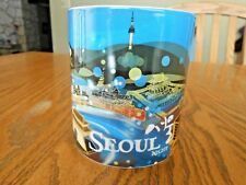 Starbucks Seoul NIGHT Coffee Mug 2012 Collector Series 16 oz. Cityscape Temples