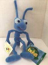"Disney Vintage BUG'S LIFE ~ FLIK ~ Bean Bag Plush 8"" Beanie  Stuffed NEW  NWT"