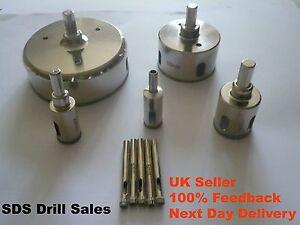 Diamond Holesaw 3mm-160mm Drill Bit Cutter Tile Ceramic Glass  Porcelain Marble