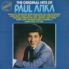 """12"""" Paul Anka The Original Hits of Paul Anka (Diana, Lonely boy, Puppy Love)"""