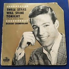 EP Richard Chamberlain Three Stars Will Shine Tonight + 3 MGM Grading Good Minus