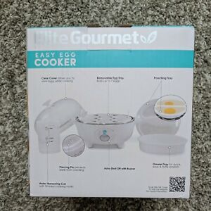 Maxi-Matic Elite Cuisine EGC-007 Easy Electric  Egg Boiler Cooker with Auto Shut