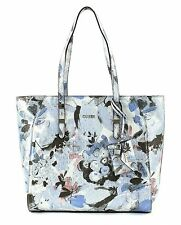 GUESS Shoulder Bag Gia Tote Blue Floral