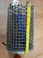Juro Stainless Steel Berley Cage Small 17cm x 12cm Weighted Lead Base NEW
