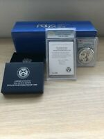 American Eagle 2019 One Ounce Silver Enhanced Reverse Proof Coin 2019S PCGS PR70