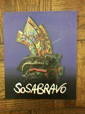 Cuban artist ALFREDO SOSABRAVO Art Catalog / Sculptures & Pottery 2010