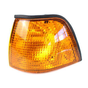 For BMW E36 318i 325i 318ti M3 Front Left Yellow Lens Tyc Turn Signal Indicator