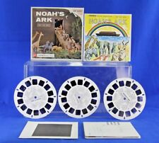 VINTAGE VIEW-MASTER GAF STEREO PICTURE OF NOAH'S ARK WITH STORY BOOKLET CATALOG