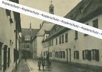 Augsburg - Die Fuggerei -  um 1920 - W 21-12
