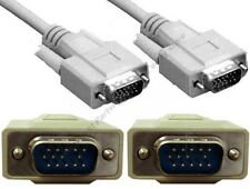 15ft long SVGA/VGA Male-M Monitor/LCD/LED/TV/HDTV/Projector Patch Cable/Cord{W